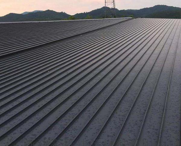 广西百色高速服务区65-430铝镁锰板