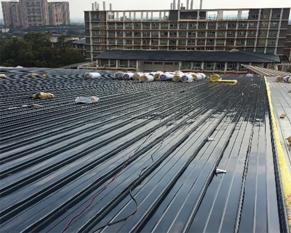 桂林奥林匹克体育馆项目65-400型铝镁锰板