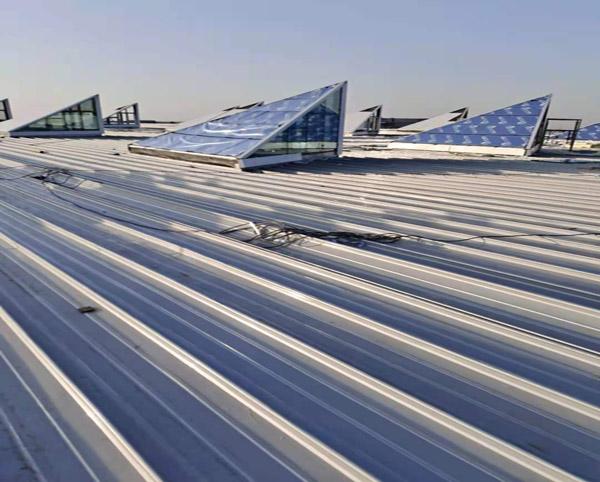 直立锁边高立边铝镁锰金属屋面