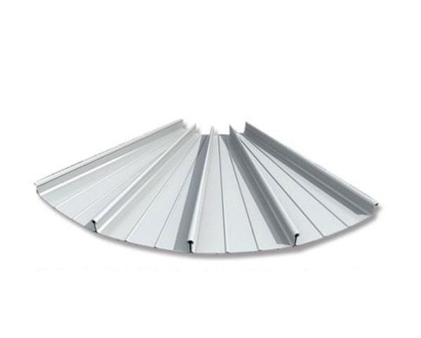 直立锁边铝镁锰-扇形板