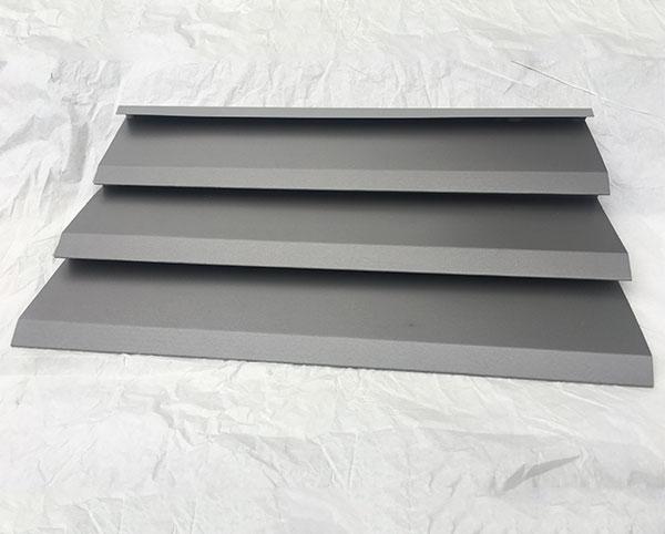 台阶横装型铝镁锰金属屋面板