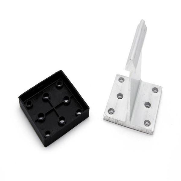 直立锁边高立边铝镁锰金属屋面系统铝合金支座