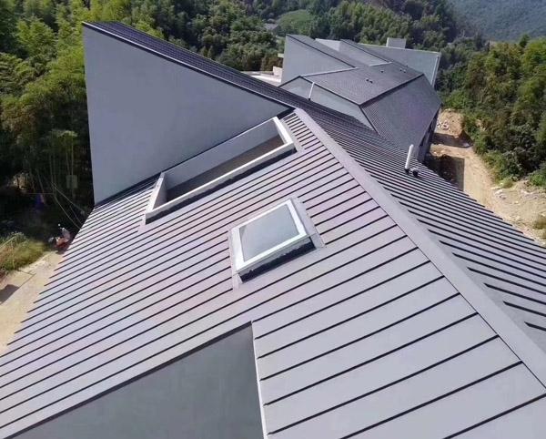 立边咬合铝镁锰金属屋面